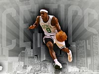 Rajon Rondo 9 Widescreen Wallpaper