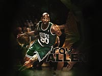 Ray Allen 1680x1050 Wallpaper