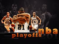 San Antonio Spurs NBA Playoffs 2010 Wallpaper