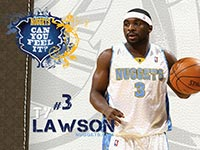 Ty Lawson Nuggets 1280x1024 Wallpaper