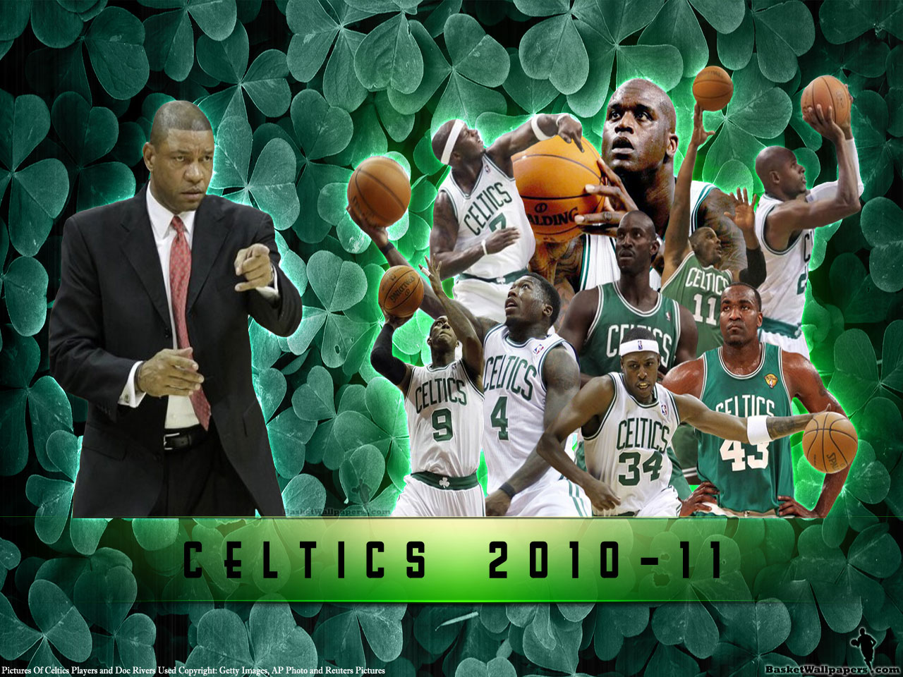 Boston Celtics 2010 11 Season Wallpaper Basketball Wallpapers At Basketwallpapers Com