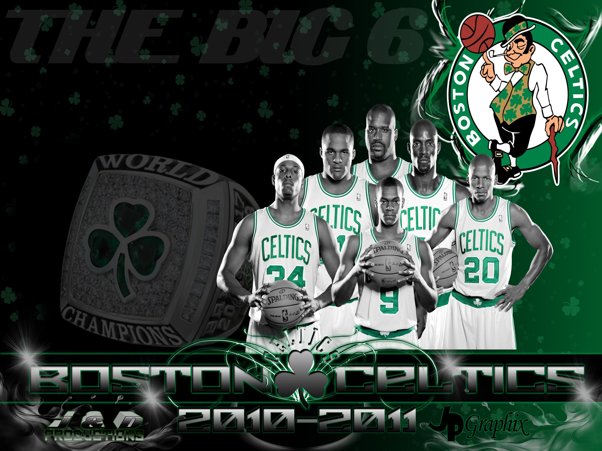 Boston Celtics 2011 – 2560×1920 Wallpaper