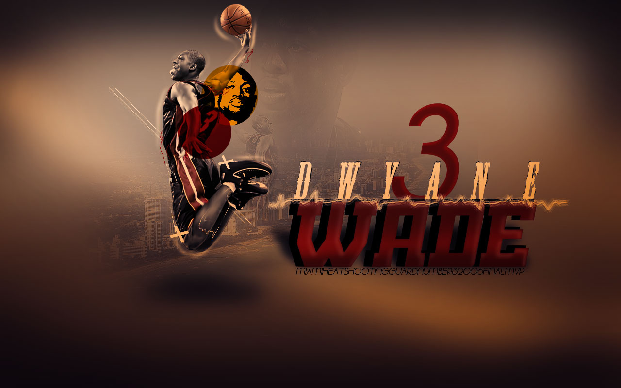 Dwyane Wade Wall...Lebron James Wallpaper Heat Dunk