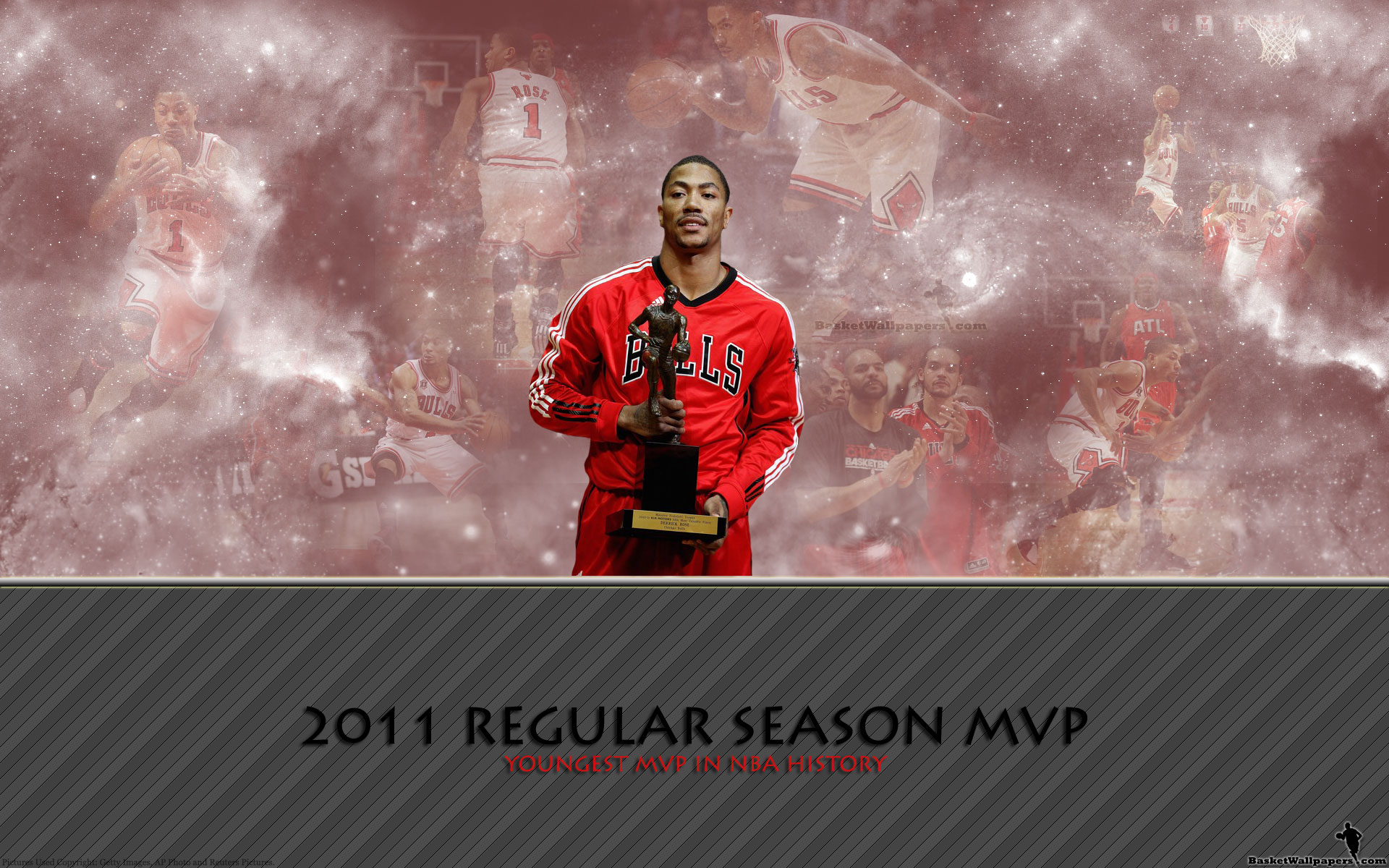 0b3bcf4ca894 Derrick Rose 2011 MVP Award Widescreen Wallpaper