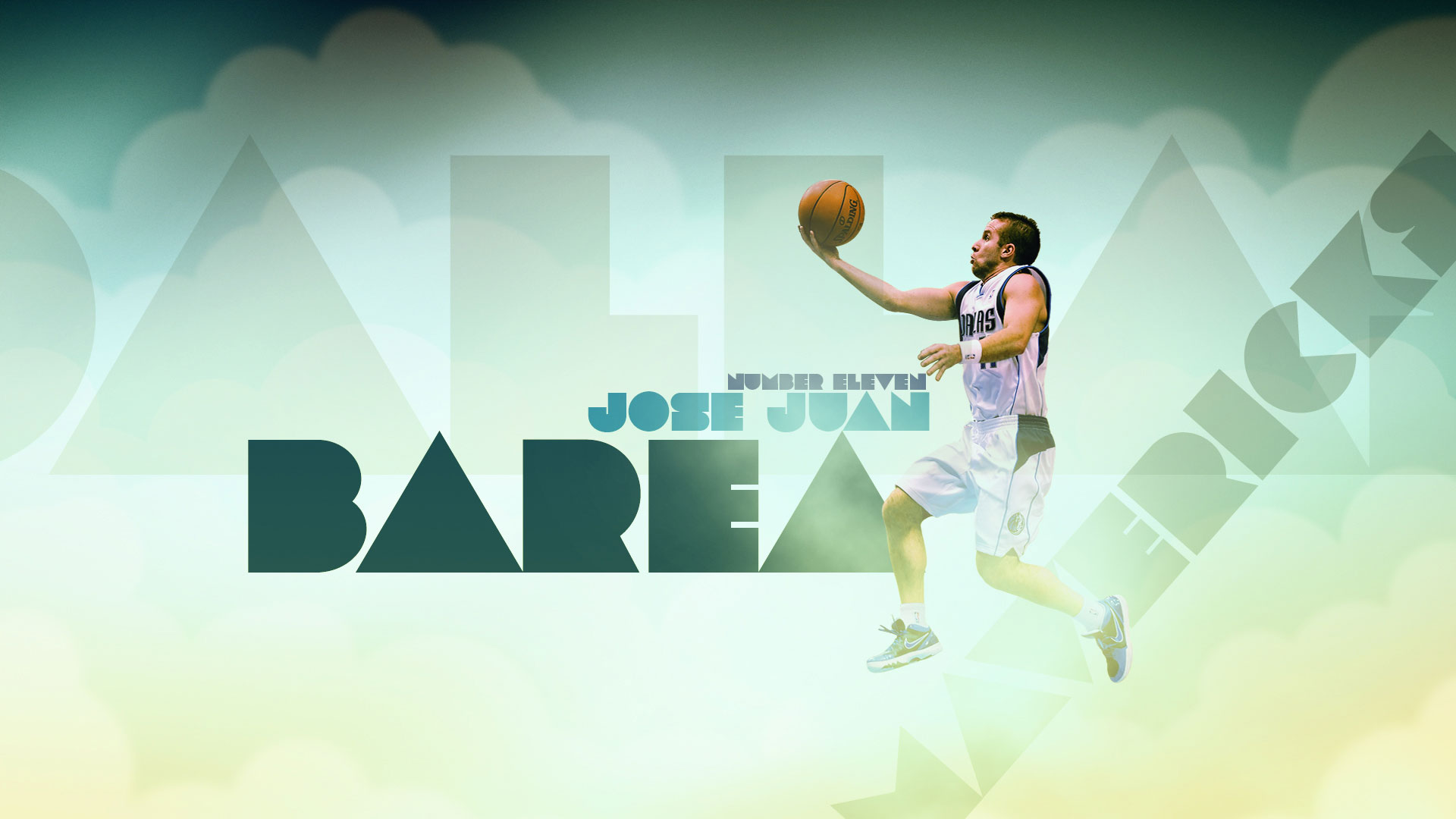 Jose Juan Barea Dallas Mavericks Widescreen Wallpaper