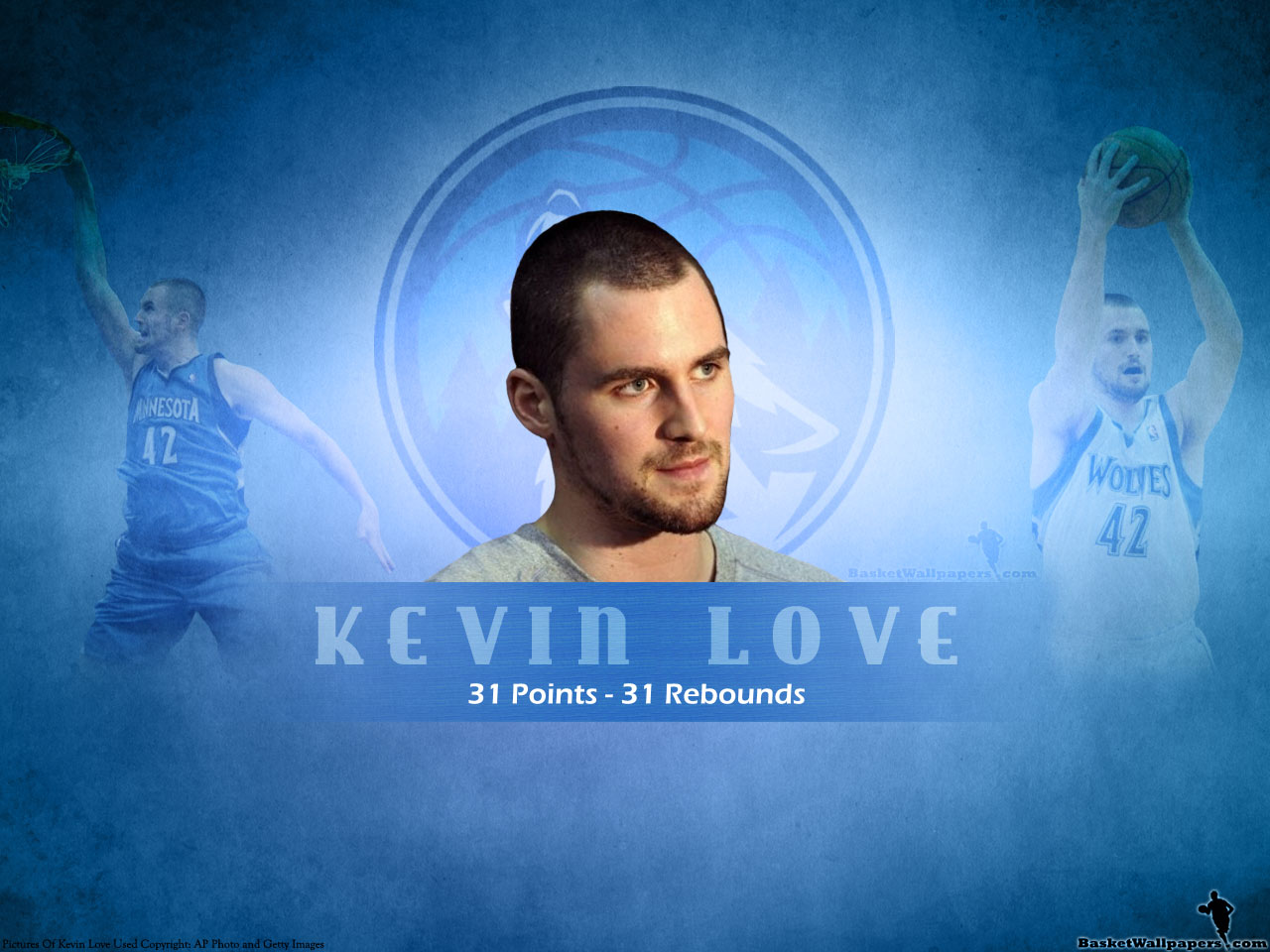 KEVIN LOVE - Basketball Wallpapers