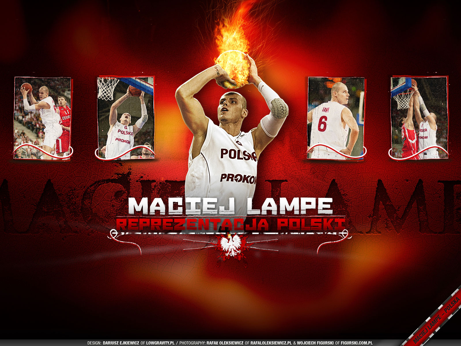 Maciej Lampe Poland Team Wallpaper