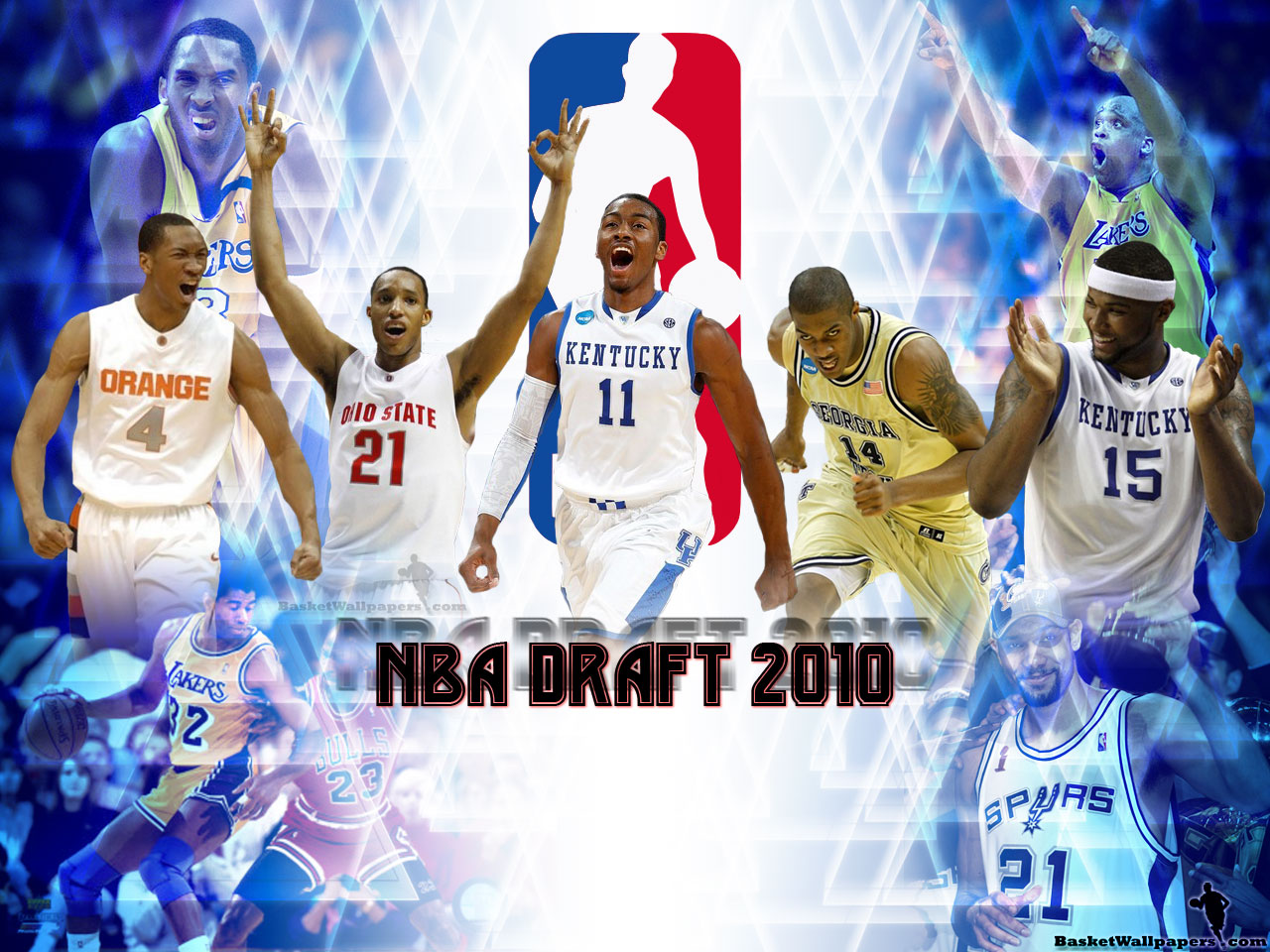 Nba Draft 2010 Top 5 Picks Wallpaper Basketball Wallpapers At Basketwallpapers Com