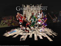 2011 NBA Playoffs - Game Of Thrones Widescreen Wallpaper