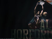 Al Horford Dunk Widescreen Wallpaper