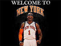 Amare Stoudemire Welcome To New York Wallpaper