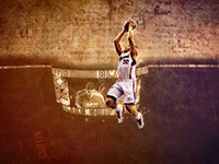 Blake Griffin Clippers Dunk Widescreen Wallpaper