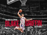 Blake Griffin Dunk vs Spurs Widescreen Wallpaper