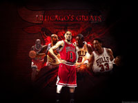 Chicago Bulls Greats Wallpaper