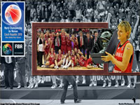Czech Republic FIBA World Championship 2010 Silver Medal Wallpaper
