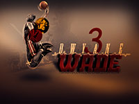 >D-Wade #3 Dunk Widescreen Wallpaper