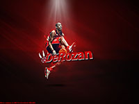 DeMar DeRozan Between Legs Dunk Widescreen Wallpaper