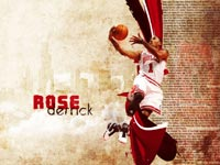 Derrick Rose 2011 Widescreen Wallpaper