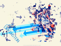 Dirk Nowitzki 2011 Playoffs Widescreen Wallpaper
