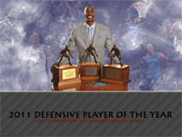 Dwight Howard 2011 DPOY Award Widescreen Wallpaper