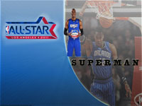 Dwight Howard All-Star 2011 Widescreen Wallpaper