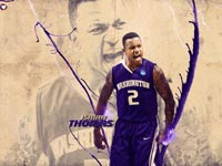 Isaiah Thomas Washington Huskies 2011 Widescreen Wallpaper