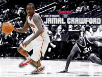 Jamal Crawford Hawks Widescreen Wallpaper