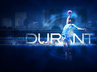 Kevin Durant Thunder 1280x1024 Wallpaper