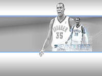 Kevin Durant Thunder 1600x1000 Widescreen Wallpaper