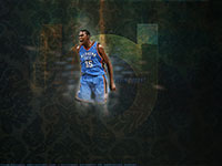 Kevin Durant Thunder 1600x900 Wallpaper