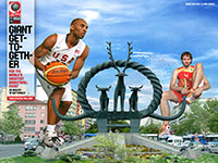 Kobe Bryant And Pau Gasol FIBA World Championship 2010 wallpaper