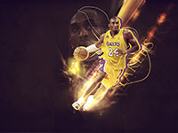 Kobe Bryant Top 10 NBA History Scorers wallpaper