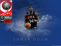 Lamar Odom FIBA WC 2010 Wallpaper
