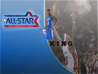 LeBron James All-Star 2011 Widescreen Wallpaper