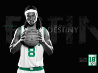 Marquis Daniels Celtics Widescreen Wallpaper