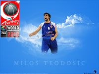 Milos Teodosic FIBA World Championship 2010 Wallpaper
