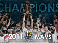 NBA 2011 Champions - Dallas Mavs Widescreen Wallpaper