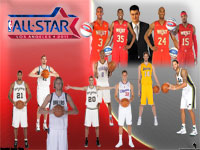 NBA All-Star 2011 Western Conference Team Widescreen Wallpaper