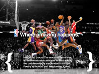 NBA Slam Dunk Contest History Widescreen Wallpaper