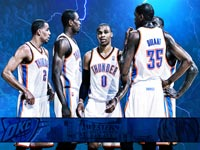 Oklahoma City Thunder 2011 NBA Conference Finals Widescreen Wallpaper