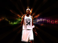 Paul Pierce 2010 Widescreen Wallpaper