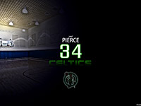 Paul Pierce Number 34 Widescreen Wallpaper