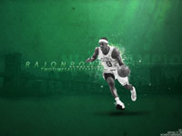 Rajon Rondo 2 Times All-Star Widescreen Wallpaper