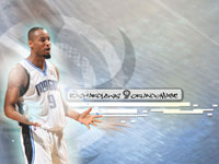 Rashard Lewis Orlando Magic 1366x768 Wallpaper