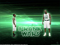 Shaq - Nate Celtics Prank Wars 2010 Wallpaper