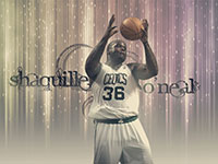 Shaquille O'Neal Celtics 2011 Widescreen Wallpaper