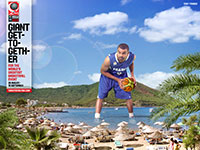 Tony Parker FIBA World Championship 2010 Wallpaper