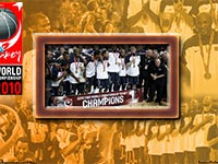 USA FIBA World Championship 2010 Gold Medal Wallpaper