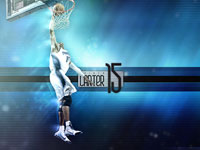 Vince Carter Magic Dunk Widescreen Wallpaper