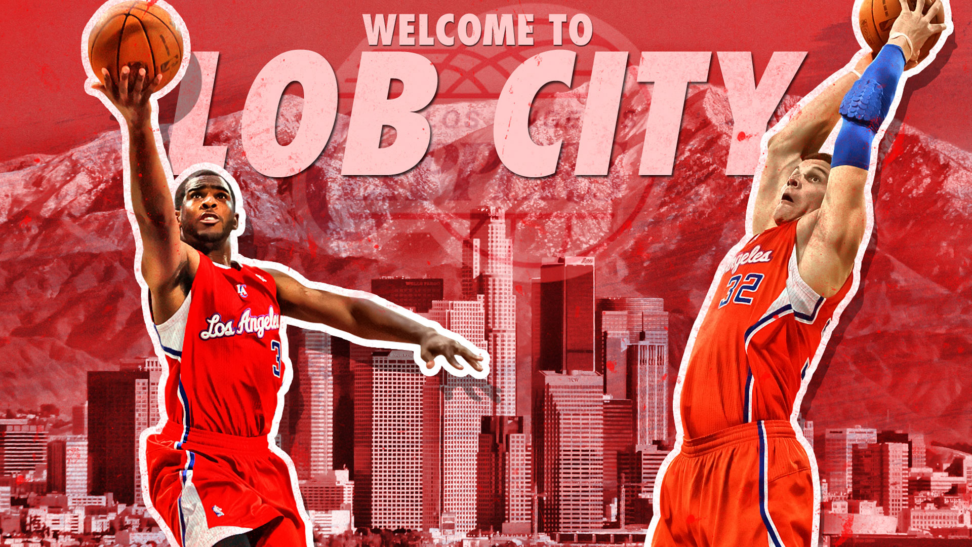 Los Angeles Clippers Wallpapers 2012 Welcome To Lob City Wallpaper